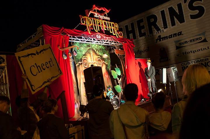 Photo of The Puppeteer stage