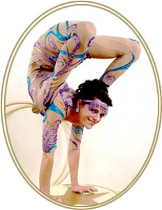 Photo of contortionist